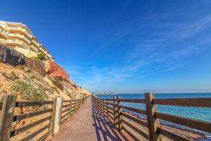 Campoamor Beach, Playa de la Glea, Orihuela Costa, Spain
