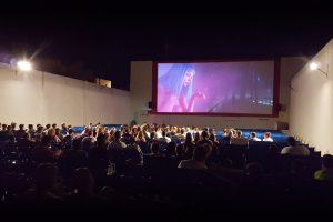 Cine de Verano outdoor cinena, Cabo Roig, Orihuela Costa, Spain