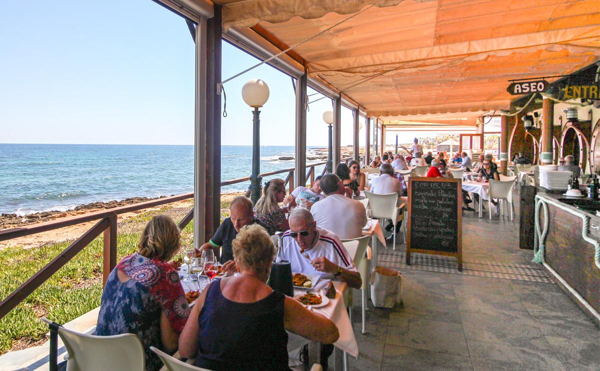 Restaurante Nautilus, Punta Prima, Costa Blanca