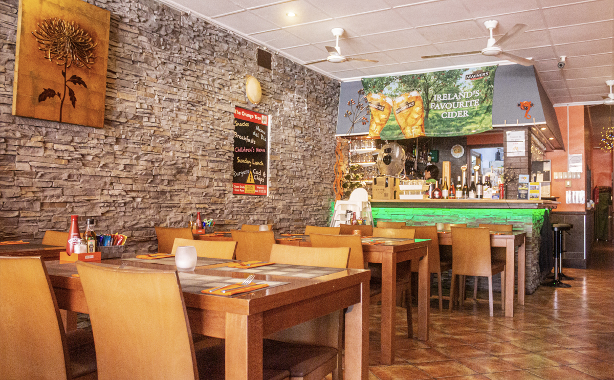 Where to eat out this Christmas, The Orange Tree