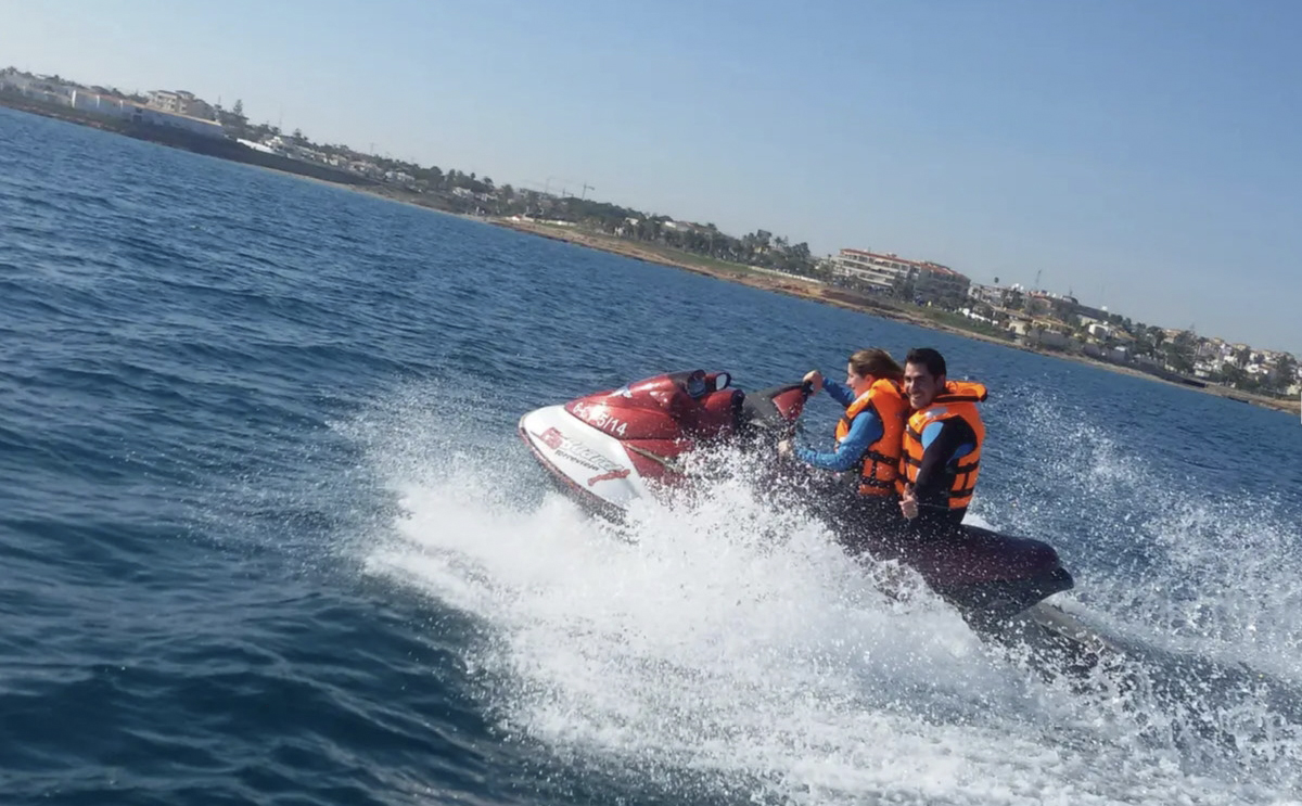 Things to do Orihuela Costa, jetski jet-ski hire Cabo Roig