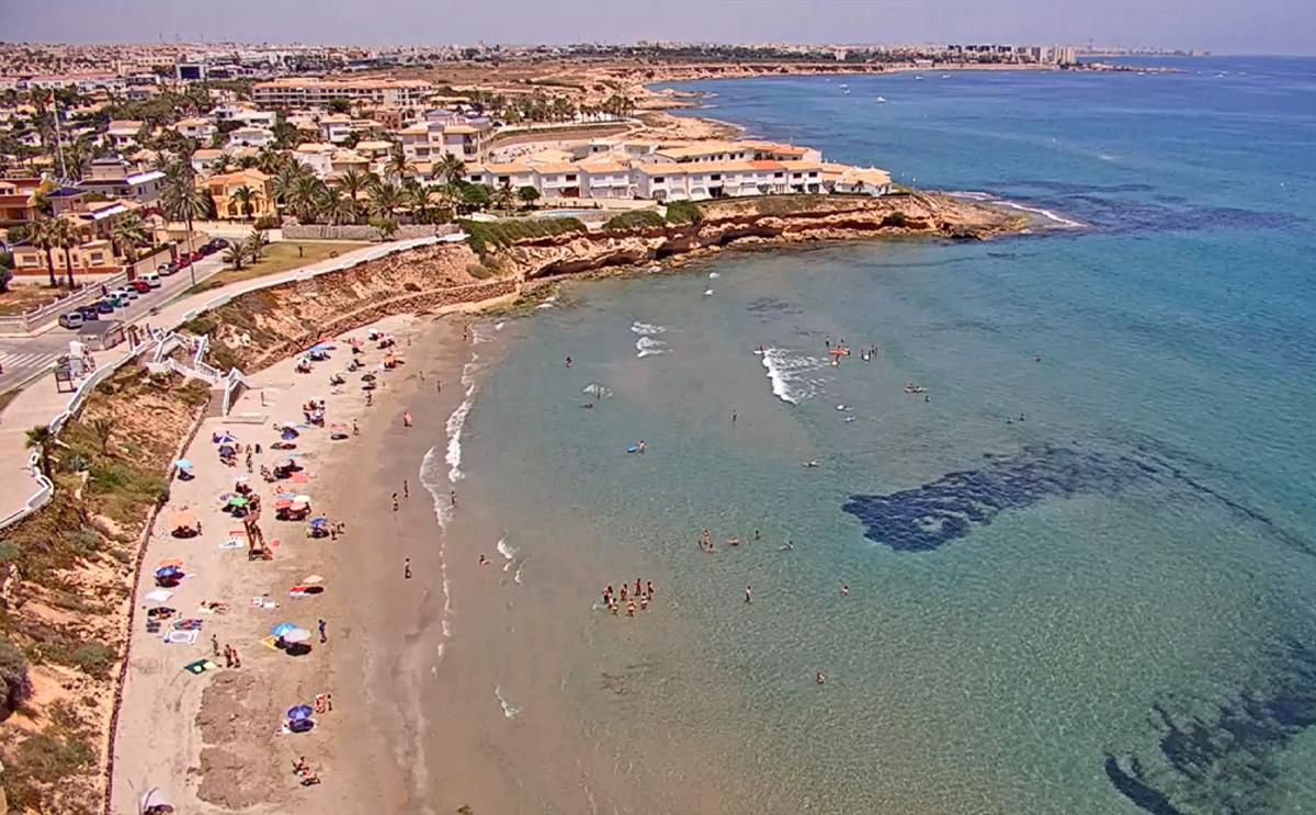 La Zenia Beach webcam, Orihuela Costa