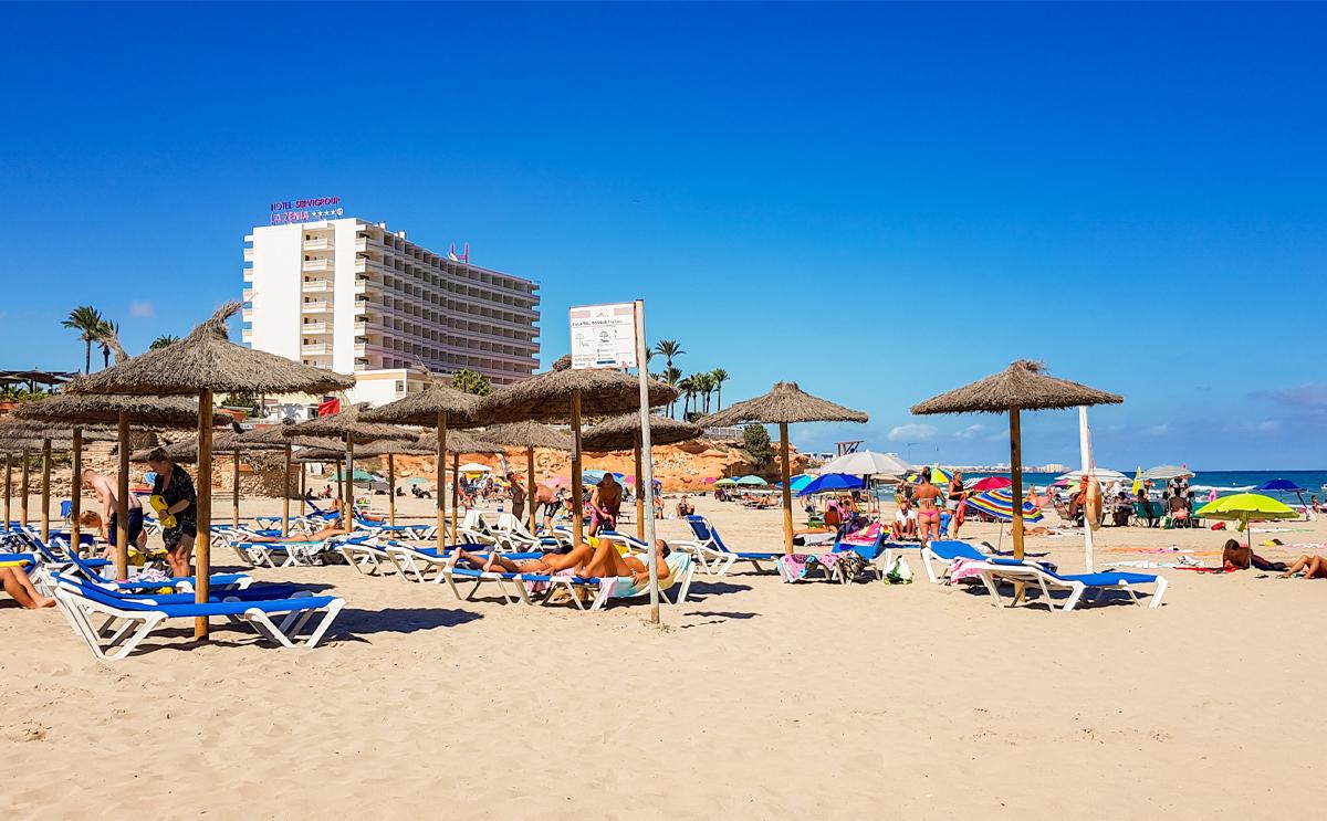 Costa Blanca summer travel in Spain